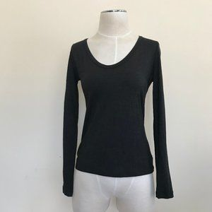 AKRIS Silk Blend Long Sleeve Shirt 6